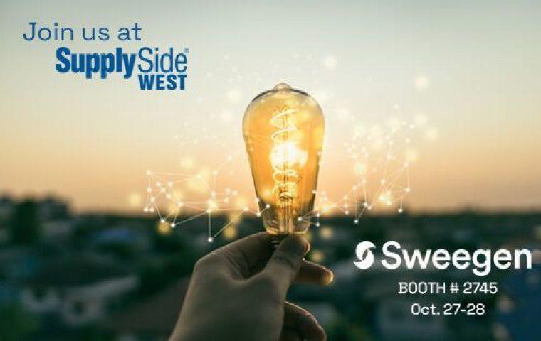 Sweegen At SupplySide West 2021 – Booth 2745